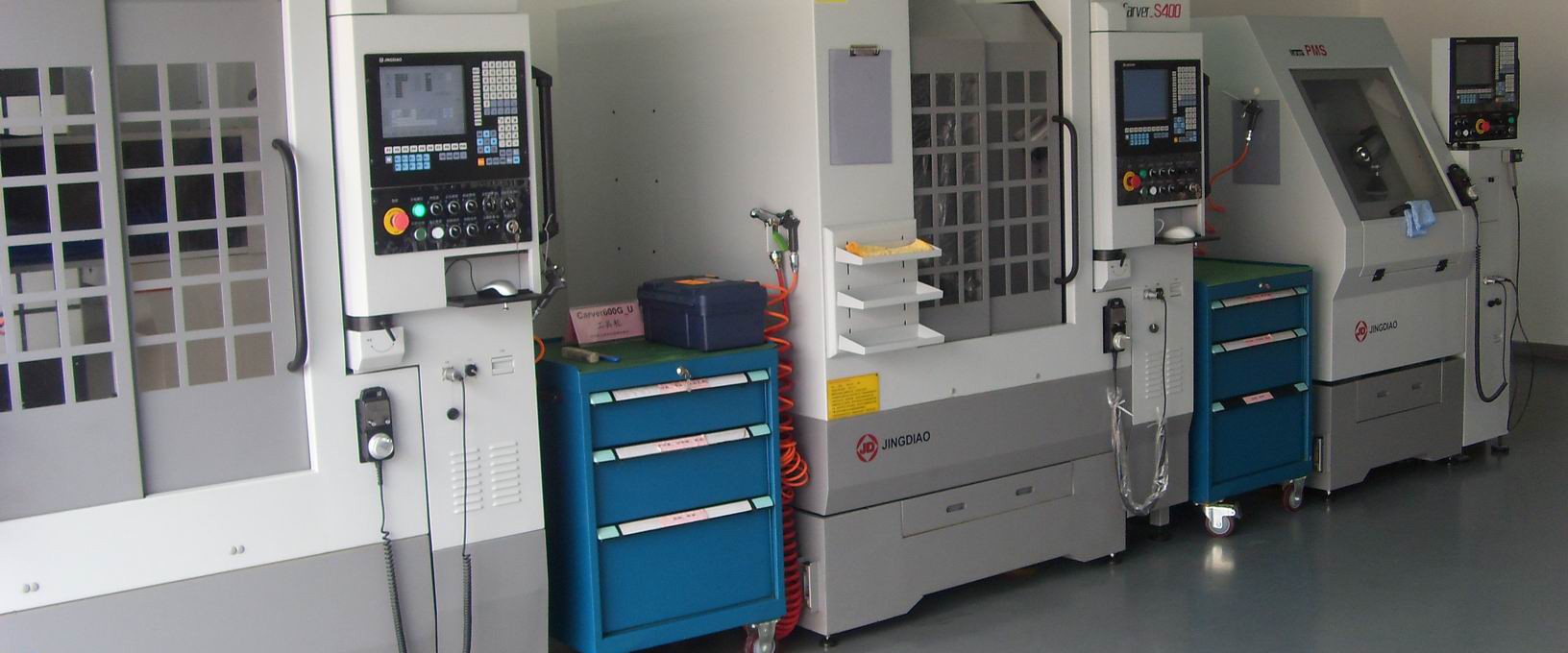 CNC machining workshop for prototype